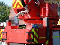 ORALITE VC612 Flexibright Fleet Marking Grade auf Einsatzfahrzeug der Feuerwehr